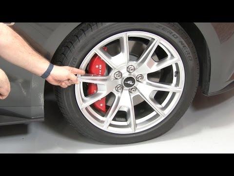 - Mustang MGP Brake Caliper Cover Set Installation