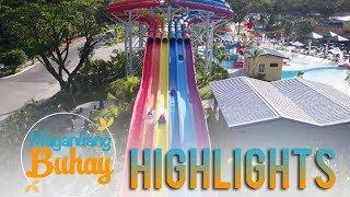 Magandang Buhay: Awra, AC at Ylona slide on Aqua Planet