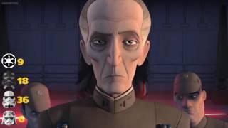 Star Wars Rebels Season 1 Imperial Death Count