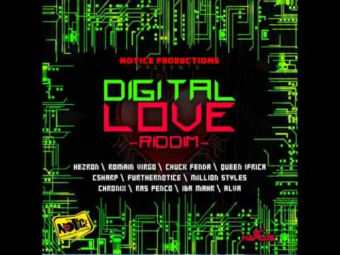 Digital Love Riddim - mixed by Curfew 2012