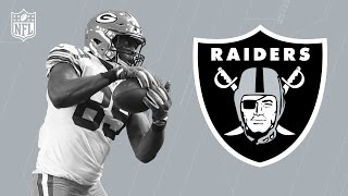 Jared Cook Welcome to the Oakland Raiders! | NFL | Free Agent Highlights
