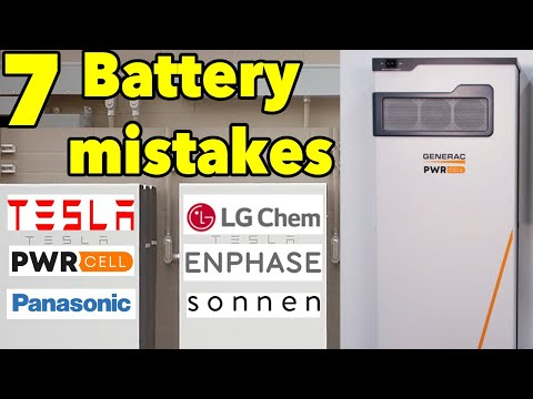 Solar Battery : 7 mistakes to avoid with Solar Batteries