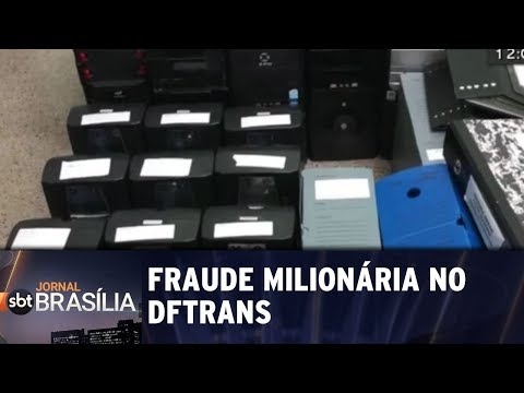 Polícia faz operação contra fraude milionária no DFTRANS