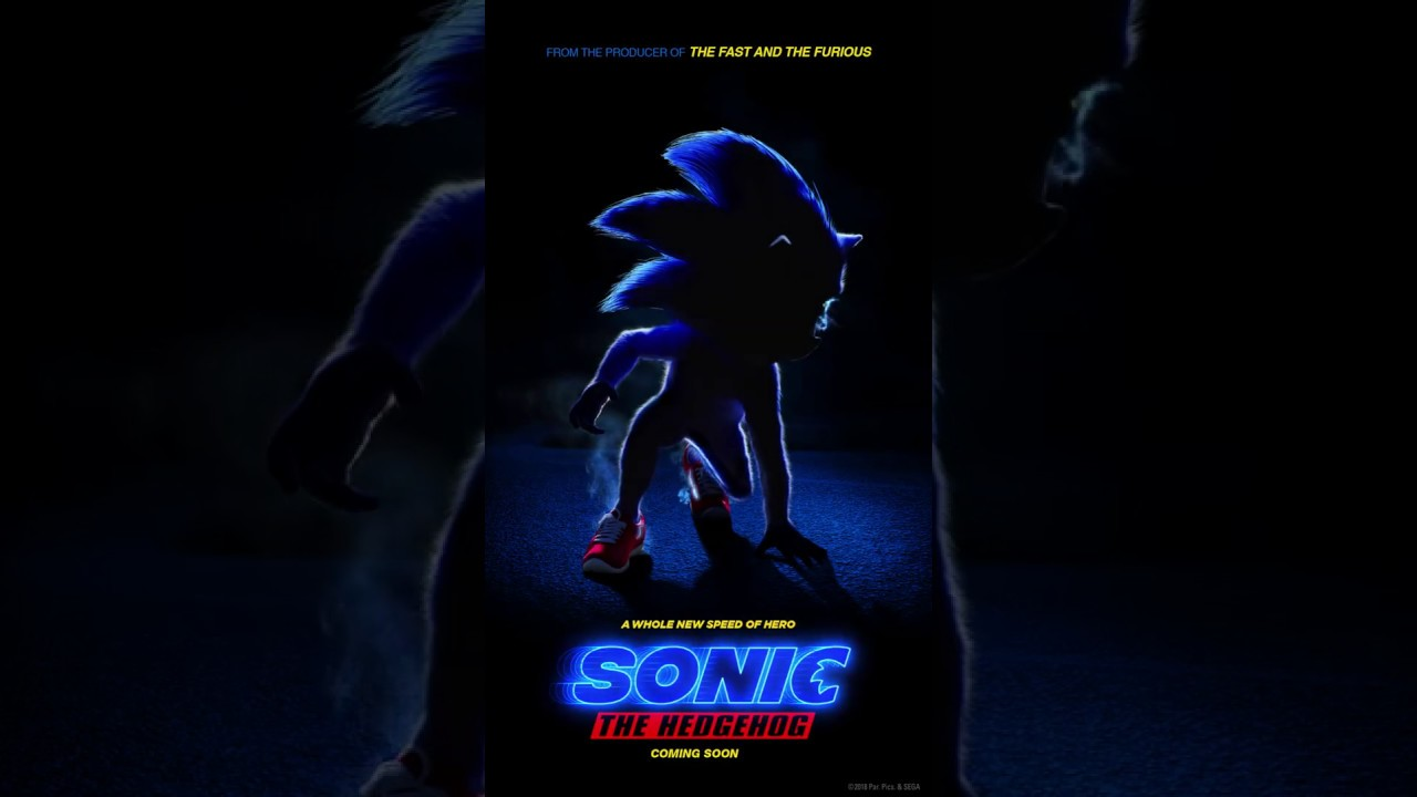 Movie Poster 2019: Sonic The Hedgehog 2019