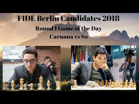 FIDE Berlin Candidates 2018 | Caruana vs So