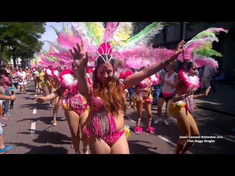 Impressie zomercarnaval Rotterdam 2014