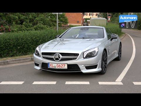 2014 Mercedes SL 63 AMG (537hp) – DRIVE & SOUND (60 fps)