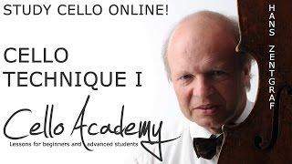 Online Cello Lessons | Cello Technique I: Scale I : Play an even scale