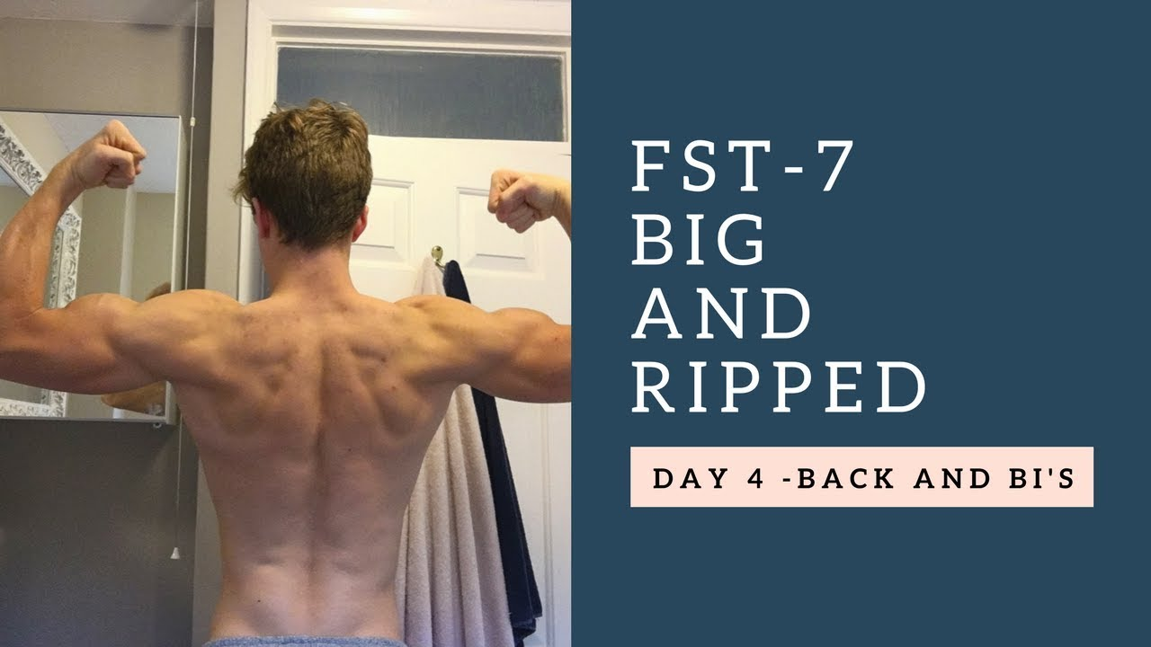 FST-7 Big and Ripped #3 - Back and Biceps - YouTube