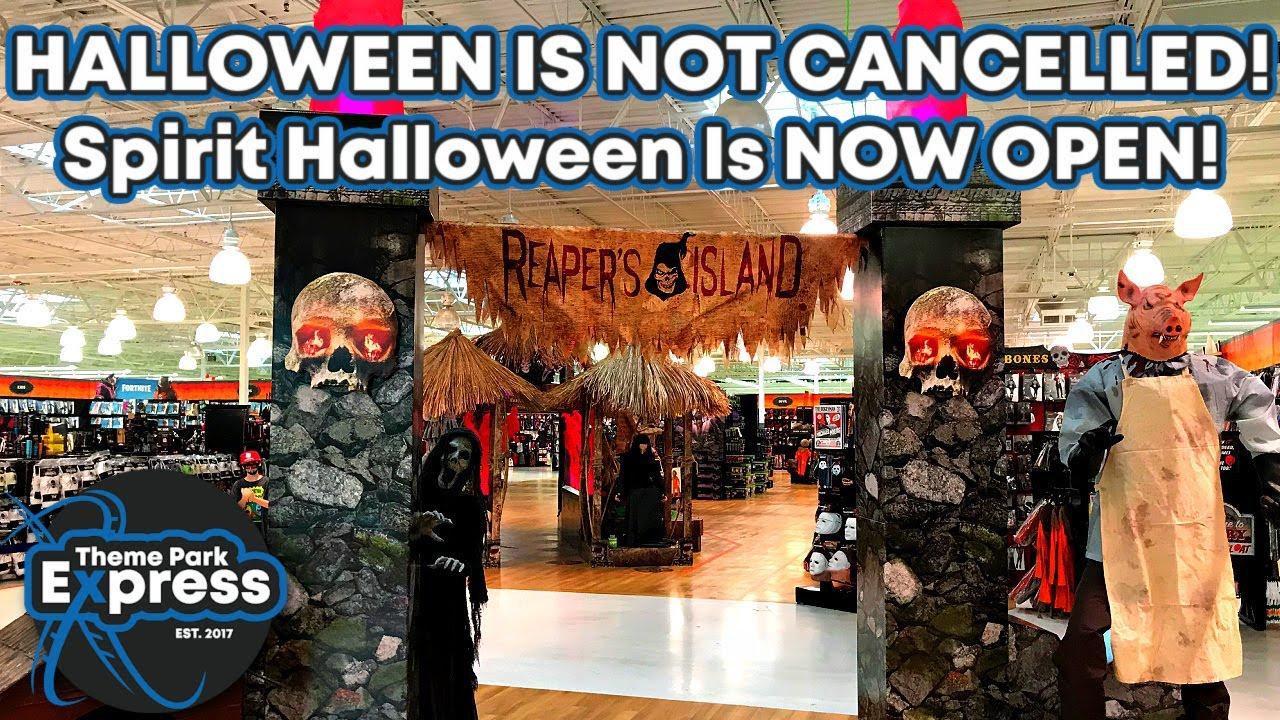 HALLOWEEN 2020 LIVES!! Spirit Halloween Is NOW OPEN! Scary Props & SPECIAL HALLOWEEN GIVEAWAY!