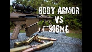 .50 CAL VS BODY ARMOR??!?! YOU WON'T BELIEVE IT!!!