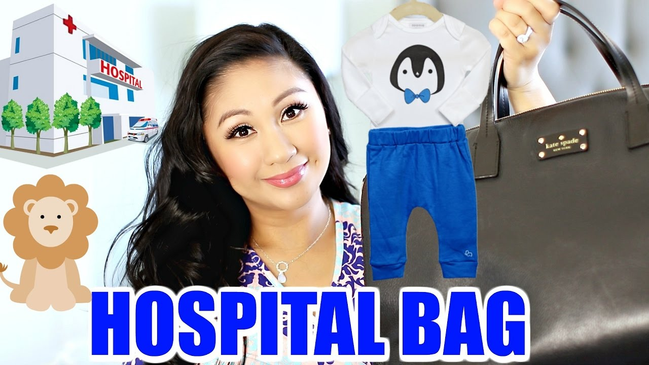 What's In My Hospital Bag? | Second Baby, C-Section, Labor ...