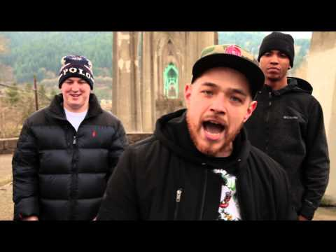 illmaculate cyphers under the St. Johns bridge