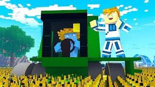 KUPILIŚMY KOMBAJN❗  | Minecraft Farma #2