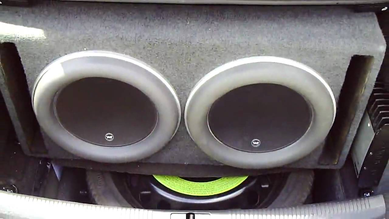 2010 Audi A5 Jl Audio W7 13 5 X2 Part 10 Youtube