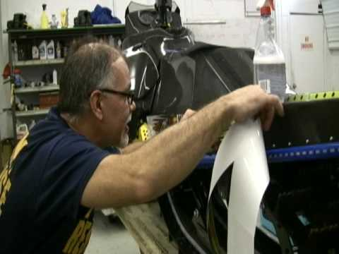 Applying Snowmobile Graphics