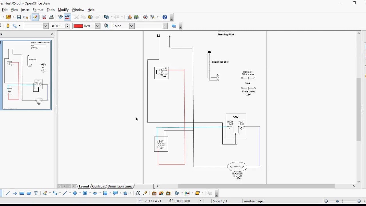 Wiring Diagram For A Standing Pilot Gas Furnace