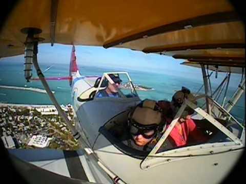 Conch Republic Air Force Biplane Ride - Key West Biplanes