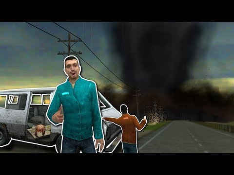 SURVIVING A TORNADO!? - Garry's Mod Gameplay - Gmod Base Building