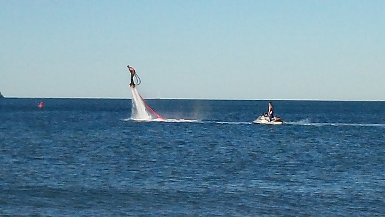 amazing flying machine lets man hover u0026 swim like a dolphin fly