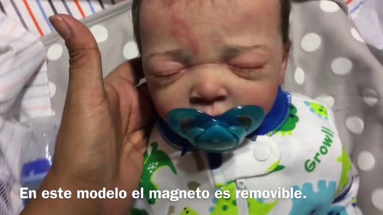 Como Hacer 3 Tipos De Chupones Magnéticos Para Tus Bebe Reborn Con Magneto Fijo Y Removible Youtube