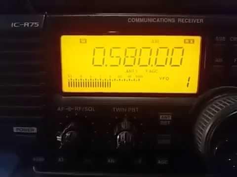 Radio Relógio, Rio de Janeiro RJ BRAZIL - 580 kHz