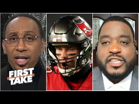 Stephen A. goes off on Damien Woody for suggesting the Bucs could miss the playoffs | First Take