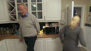 Hellstrøm rydder opp hjemme: Deltaker brekker seg