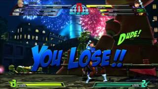 Russian Let's Play - Marvel vs Capcom 3  # 2