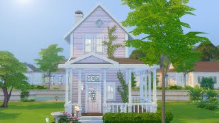 I Built a Two Story Tiny House in The Sims 4