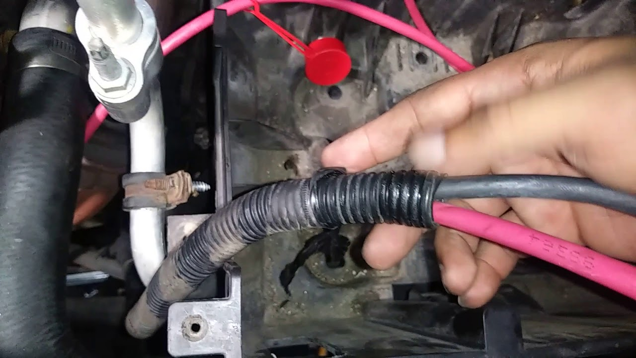 small resolution of chevy battery cables wiring wiring diagram article review 2005 to 2008 chevy equinox battery cable replacement