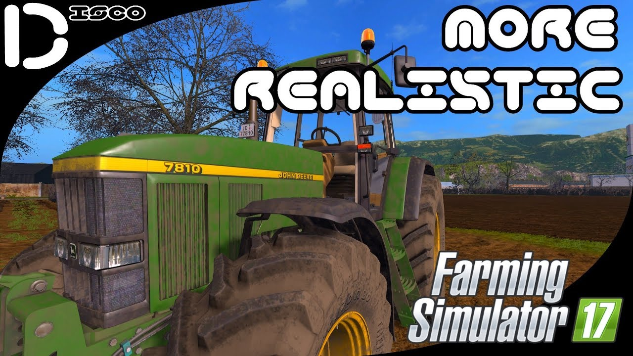 FS17 More Realistic - #4 John Deere on the Plough!     by Disco