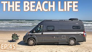 BEST PART OF VAN LIFE - Camping on the Beach | EP 45 Camper Van Life