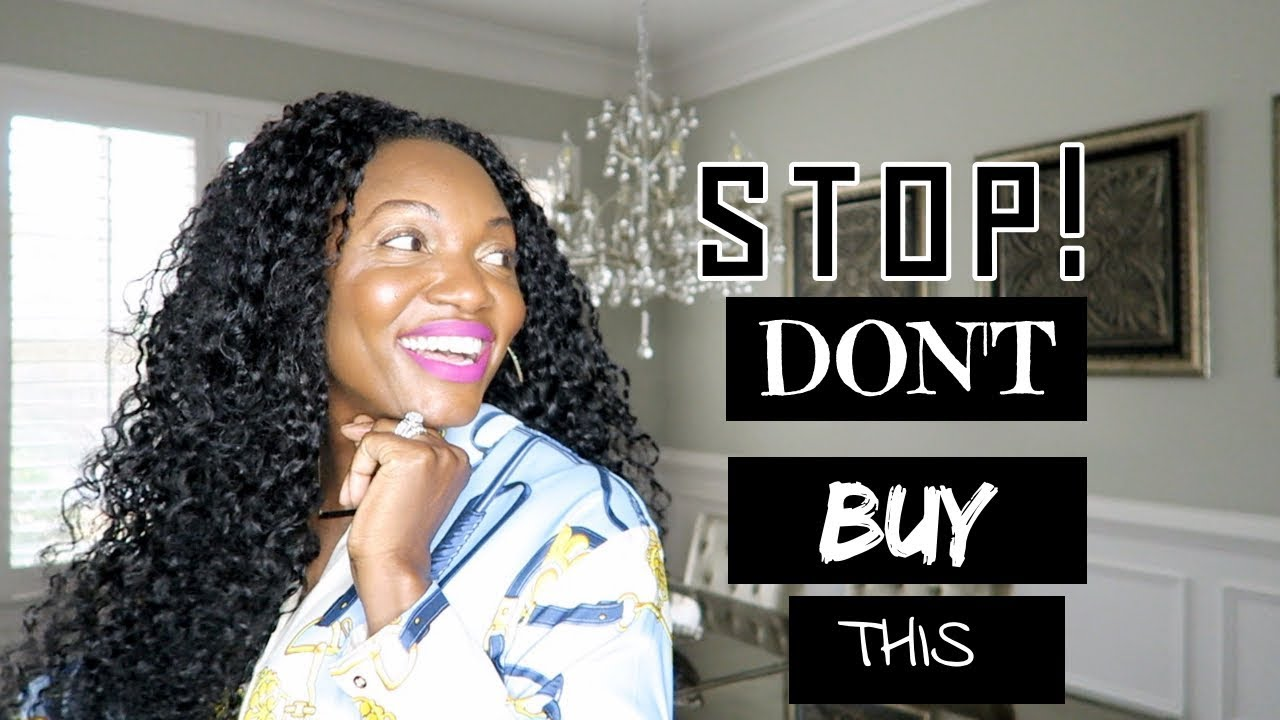 5 THINGS YOU SHOULD NEVER BUY | HOME DECOR