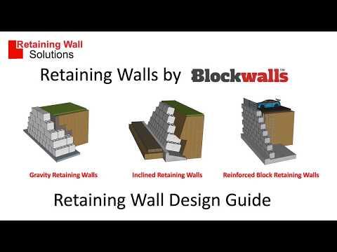 Retaining Wall Types