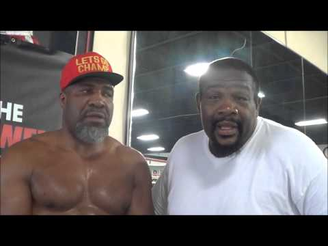 Riddick Bowe clarifies controversy in 1988 Olympics with Lennox Lewis