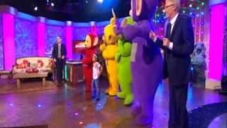 LIVE! The Teletubbies Meet 2 Fans - The Paul O'Grady Show
