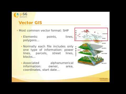 """GIS for municipality management"" course (Mod. 1): Differences between GIS and CAD"