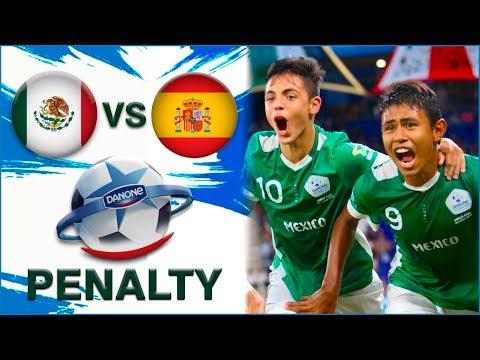 Penalty de Mexico vs Spain Danone Nations CUP U12 - 2019