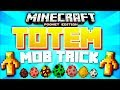 TOTEM OF UNDYING MOB TRICK // Minecraft PE 1.1.4