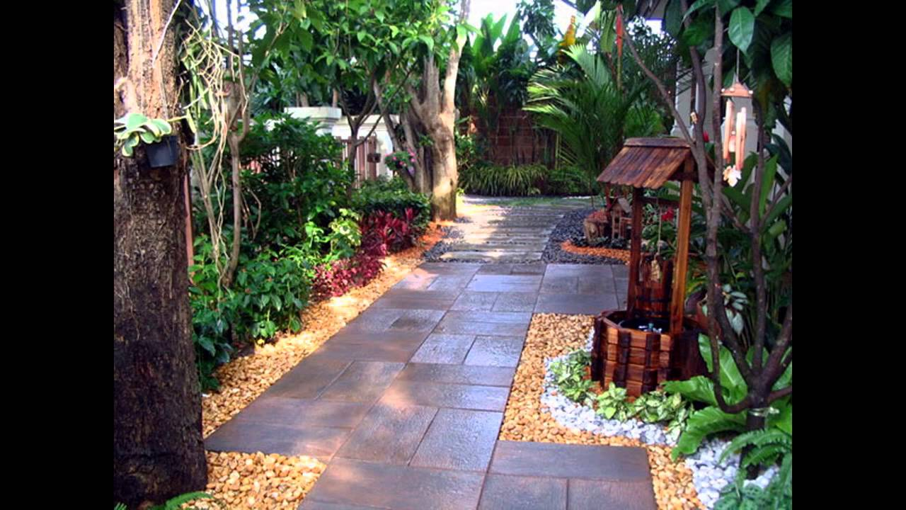 Awesome Garden Landscaping Ideas For Small Gardens Youtube