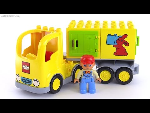 Official 2015 Lego Duplo Truck Reviewed Set 10601 Youtube