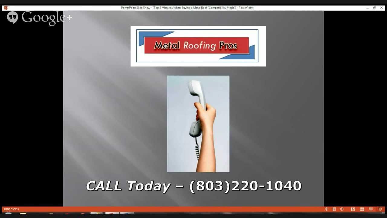 Delightful Metal Roofing Columbia, SC   803.220.1040