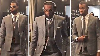 Cavaliers Players Arrive In Style For Game 1 vs Celtics