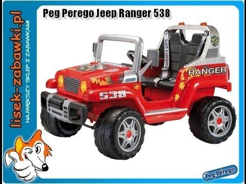 peg perego jeep ranger538 spielzeug f r kinder elektro. Black Bedroom Furniture Sets. Home Design Ideas