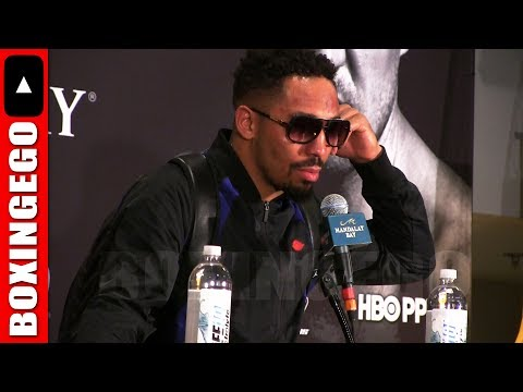 """ANDRE WARD UNINTERRUPTED! """"IF WE GONNA TALK ABOUT LOW BLOWS LETS TALK ABOUT RABBIT PUNCHING"""" TKO WIN"""