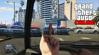 GTA V Online - ps4 - First-Person BUSTED!!!