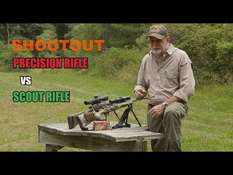 SHOOTOUT: NEW Style Precision Rifle Vs OLD Style Scout Rifle