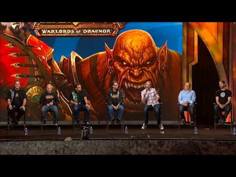 Blizzcon 2013: You think you do but you don't. WOD Q&A