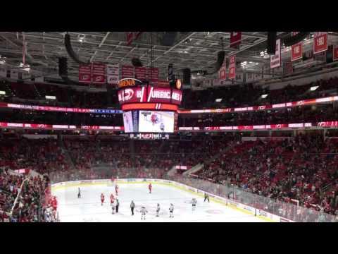 Carolina Hurricanes goal vs. Edmonton Oilers 2/3/17